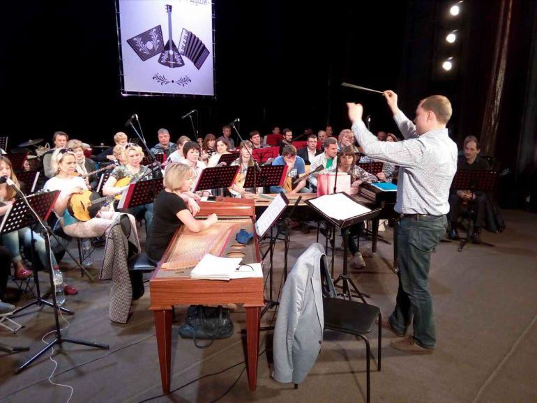 Ульяновский оркестр русских народных инструментов выступил на фестивале «Струны русской души»