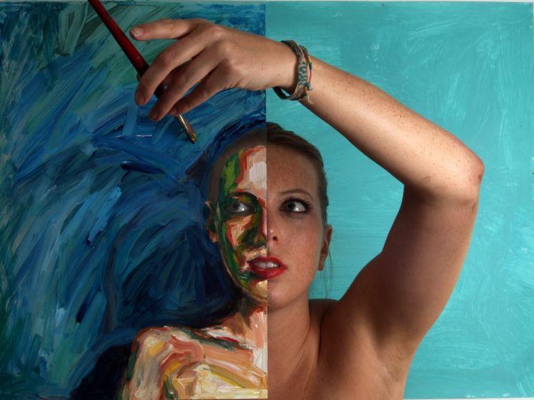 Живые портреты Алексы Мид