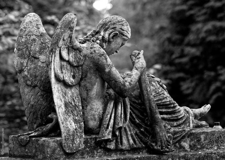 Кладбище скульптура