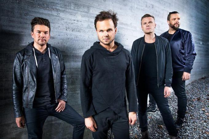 Группа The Rasmus. Европейский тур 2019. Афиша Киев