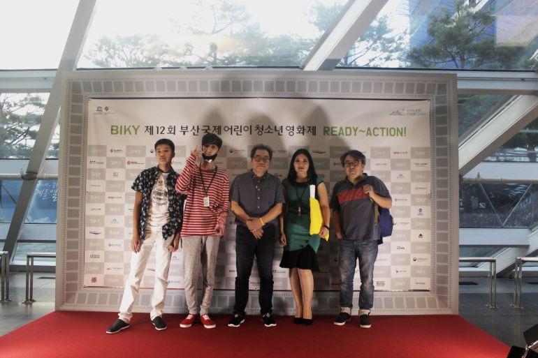 Юные режиссеры Батыркан Ильясов и Тимур Искаков приняли участие в международном кинолагере в Корее