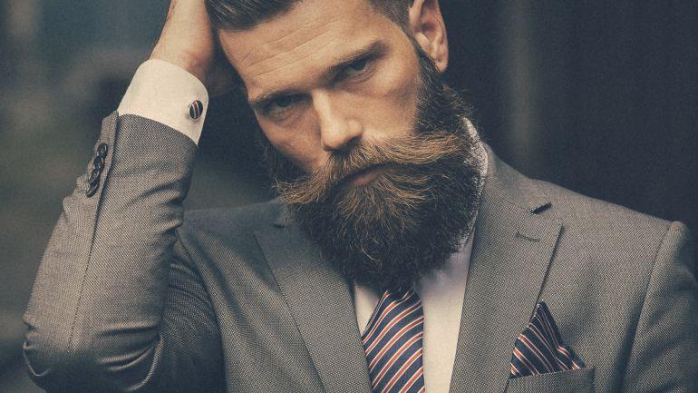 Мужчина. Стильная борода