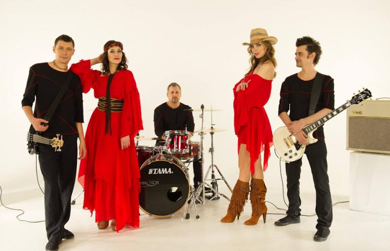 Гурт VRODA перетворився на українських рок-хіпі