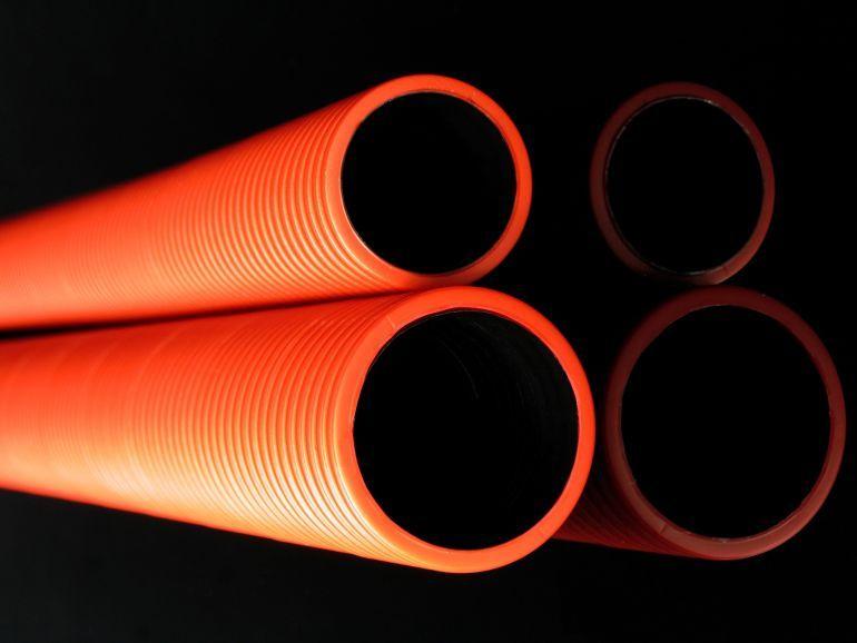 двустенные гофрированные трубы