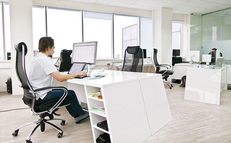 современный офис мебель