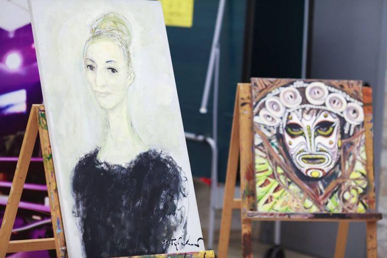 Выставка современного искусства Портрет. Lera Litvinova Gallery. Пост-релиз