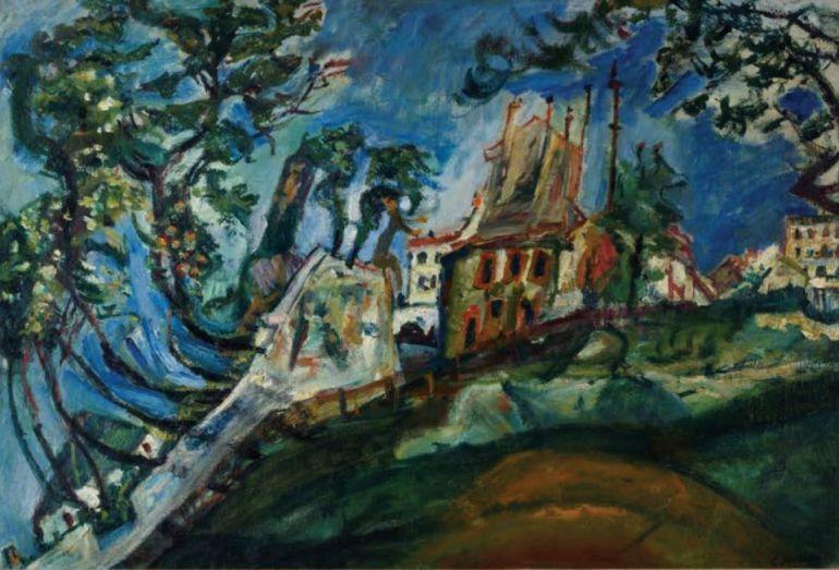 Выставка «Душа нараспашку: Хаим Сутин и израильское искусство». Музей Эйн-Харод. Афиша 2019
