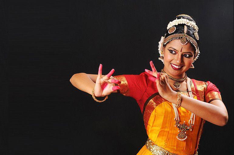 Уникальная индийская хореография