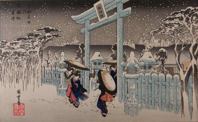 картины японские фото