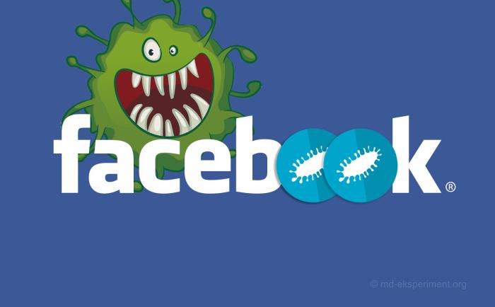 Новый вирус в Facebook 30 апреля 2018