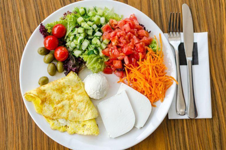 Правильное питание картинка завтрак обед ужин