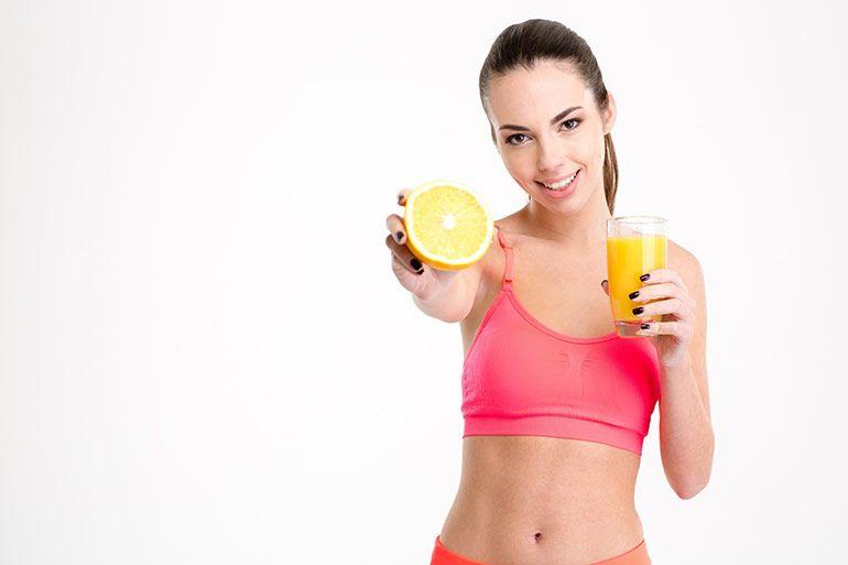 питание, спорт, девушка