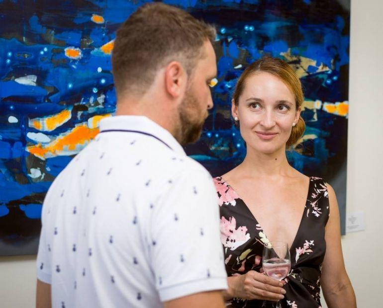 Выставка Семена Щербини. Lera Litvinova Gallery