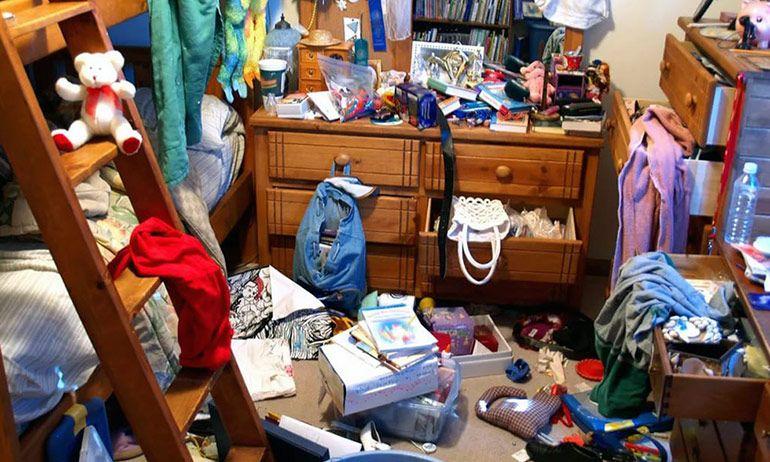 уборка квартиры беспорядок