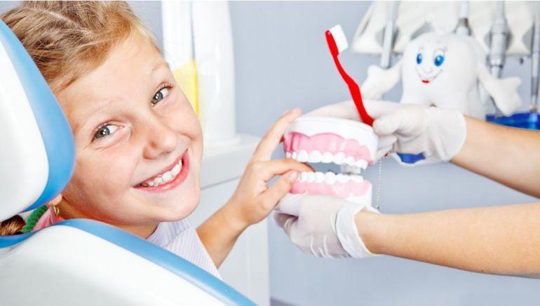 ребёнок и стоматолога