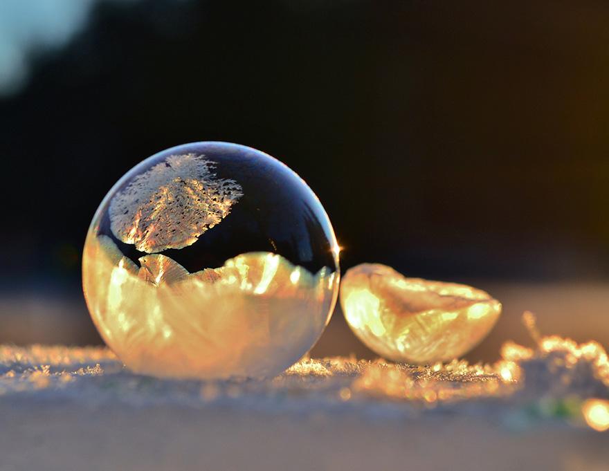 Зимние явления, которые выглядят как искусство