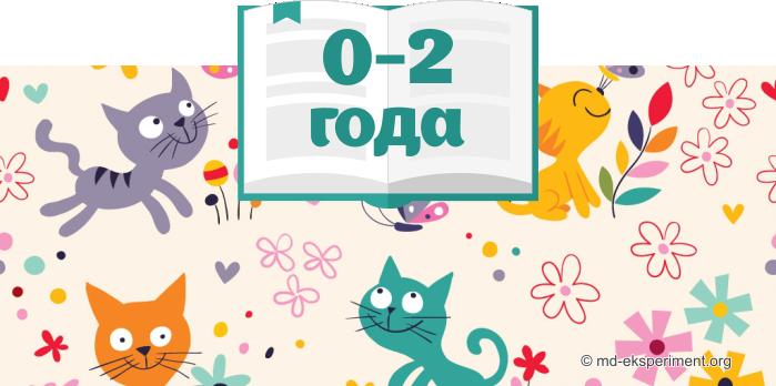Что читать детям. 0 - 2 года
