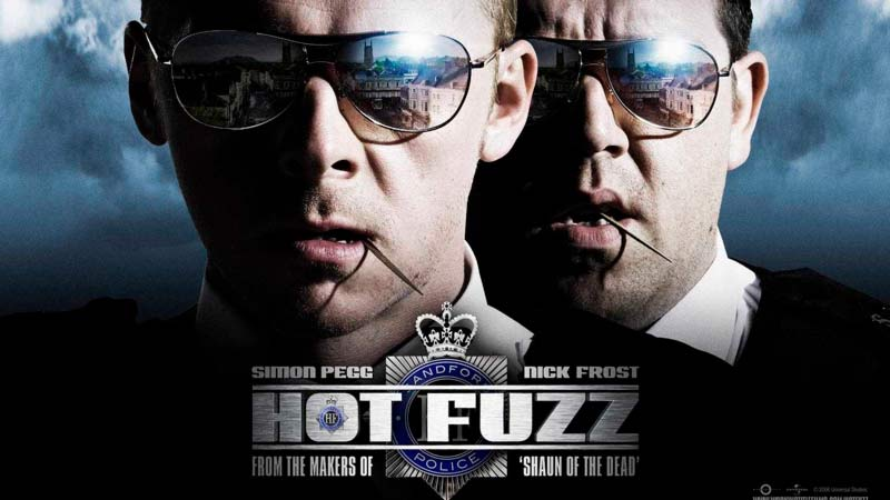 Типа крутые легавые  Hot Fuzz 2007